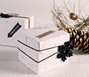 Square Christmas box