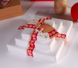 Caja regalo sencilla para tiendas