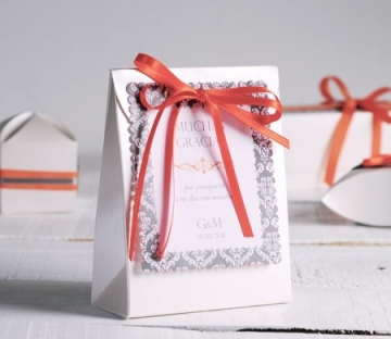 Gift bag for wedding invitations