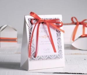 Caja para invitación de boda
