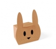 Rabbit shaped gift box