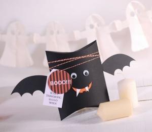 Caja Halloween murciélago