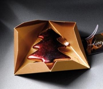Caja piramidal para regalos de empresa