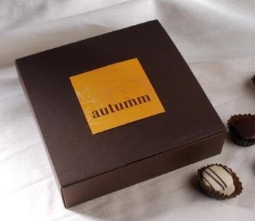 Cardboard box for chocolates