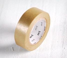 Washi Tape MT Dorado