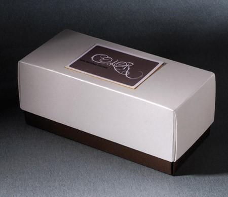 Bicolour gift box