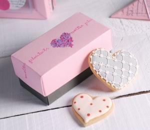 Scatolina per biscotti di nozze
