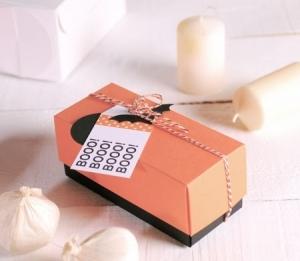 Cajita rectangular para Halloween