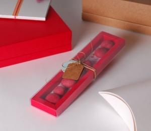 Cajita transparente para caramelos