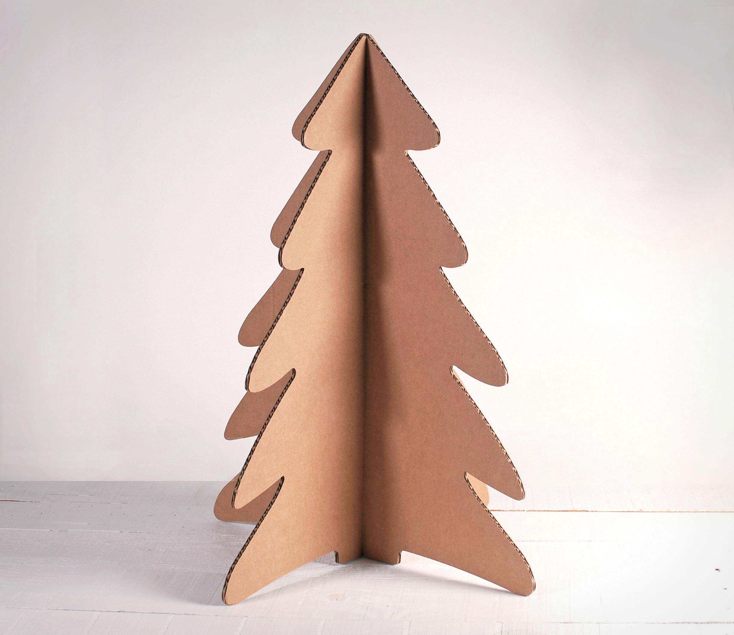 arbol de navidad de cartn para navidad