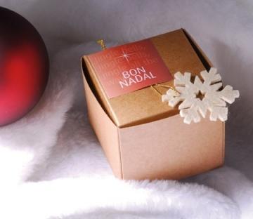 Cajita automontable para Navidad