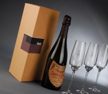 Caja de cartón para vino