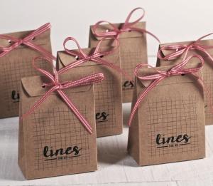 Bolsa para pequeños regalos impresa