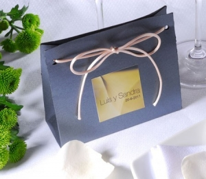 Gift bag for wedding favours