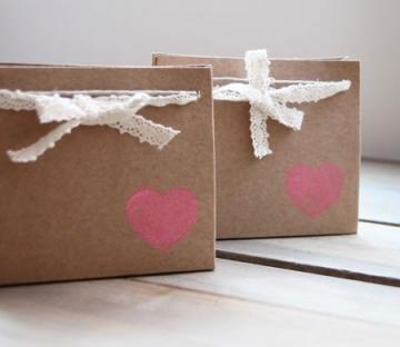 Bolsa para invitaciones de boda