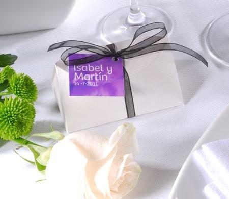 Originale scatolina per bomboniere di nozze