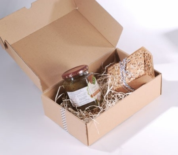 Caja automontable para picnic