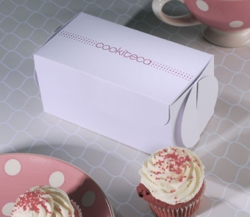 Printed box for cupcakes