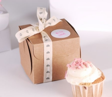 Small box for a cupcake