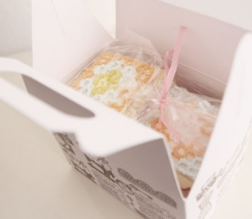 Bedruckte Picknick-Schachtel