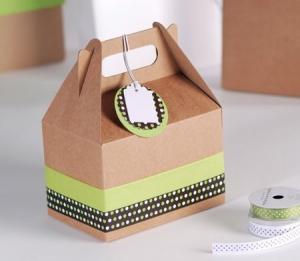 Cajita de picnic decoración topos