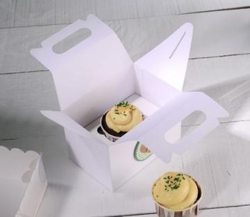 Picknick-Schachtel für einen Cupcake