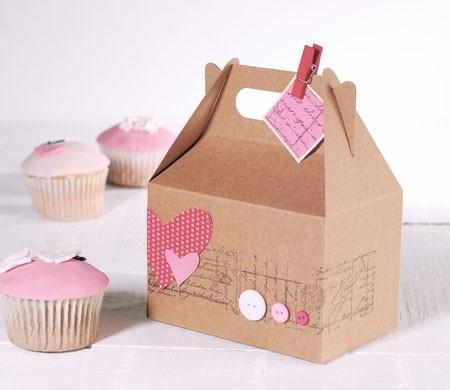 Caja para picnic decorada