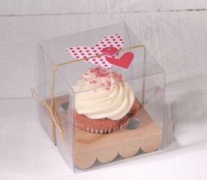 Caja para un cupcake boda