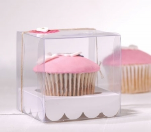 Cupcake box perfect as a first communion gift