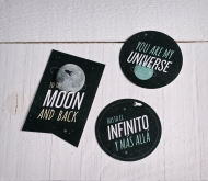 "Romantic stickers ""Universe"""