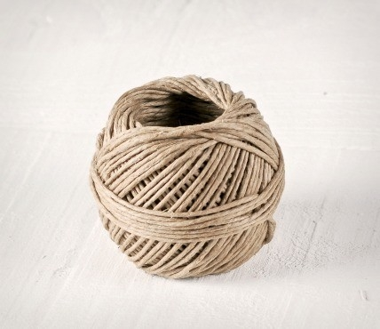 Thick hemp cord