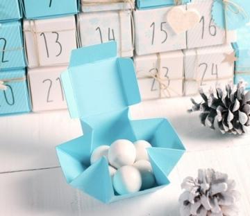 Caja para hacer un calendario de adviento