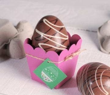 Caja de palomitas para Pascua