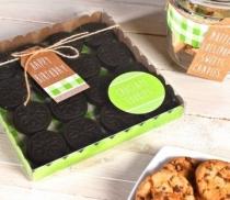 Caja para galletas o macarons
