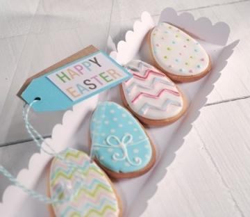 Caja alargada para galletas
