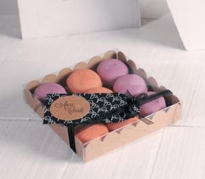 Piccola scatola per macaron