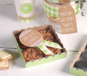 Caja para regalar galletas