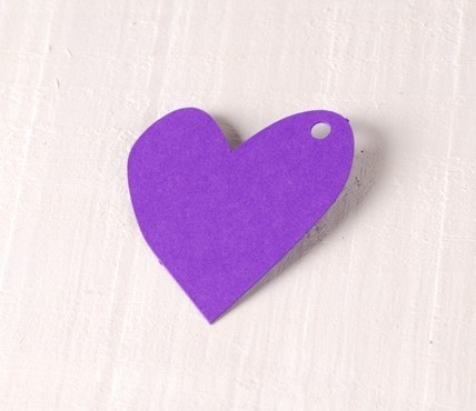 Corazón Desigual Grande 10 ud.