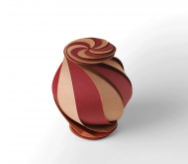 Spiral gift box