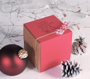 Cajita cuadrada para joyería y pequeños regalos