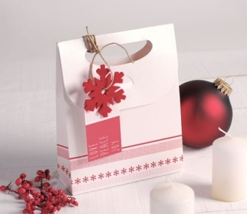 Bolsa regalo navideña para tiendas