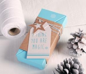 Christmas tree-shaped gift box