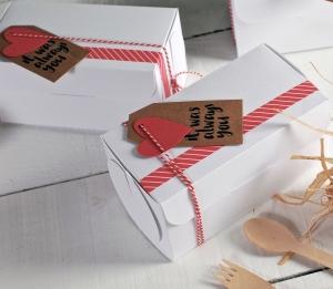 Incantevole scatola regalo per San Valentino