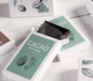 Caja impresa para chocolates