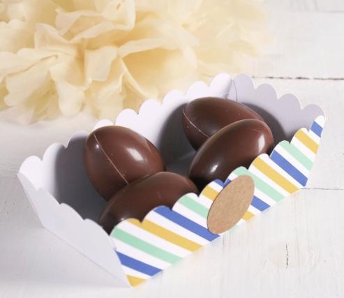 Barquilla para huevos de Pascua