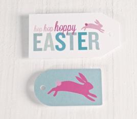 Etichette stampate per Pasqua