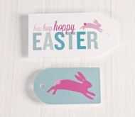 Printed Easter labels