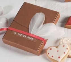 Kleine dekorierte Schachtel für Polaroidfotos
