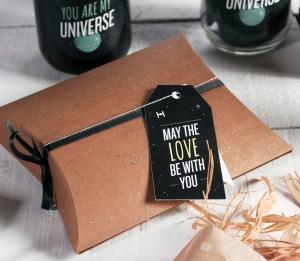 Caja regalo con decoración Star Wars