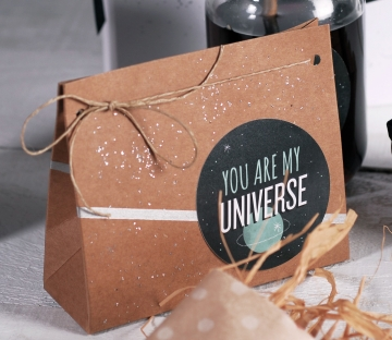 Bolsa de regalo decorada